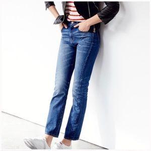 Madewell   Hi-Waisted Cruiser Straight Jeans 27